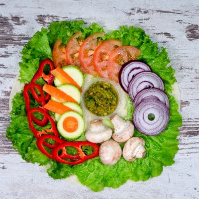Vegeterian food home delivery