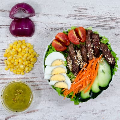 Salad and healty food delivery
