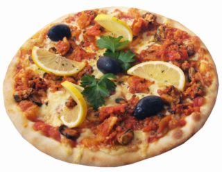 Frutti di mare pizza delivery