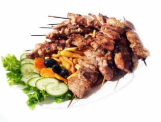 Pork kabob delivery