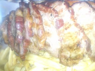 Home made smoked pork 1kg delivery