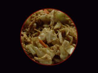 F2. Kineski špageti sa svinjetinom i povrćem dostava