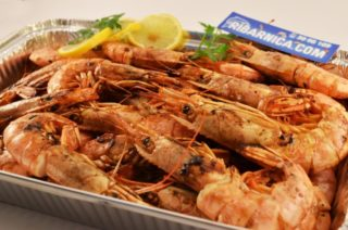 Grill prawns delivery