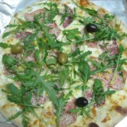 Sesame pizza