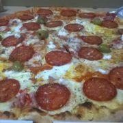 Serbian pizza