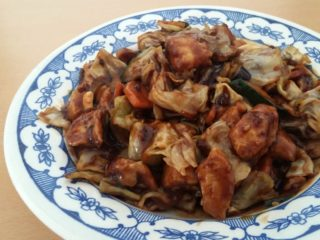 19. Chicken in hot sour n sweet sichuan sauce delivery