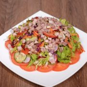 Shepards veal salad