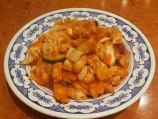 13. Chicken with pineapple in tomato sauce delivery