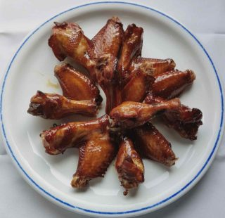 Smoked chicken wings delivery