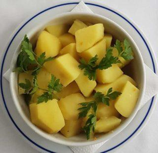 Boiled potato delivery