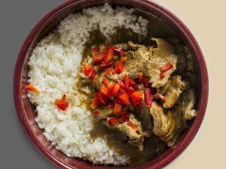 Govedina u kari sosu sa pirinčem dostava