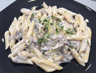 Pasta Funghi Bianco dostava