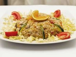 Risotto with vegetables delivery