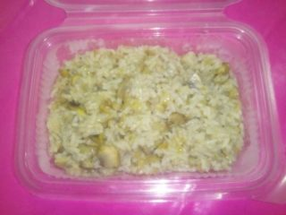 Risotto with mushrooms delivery