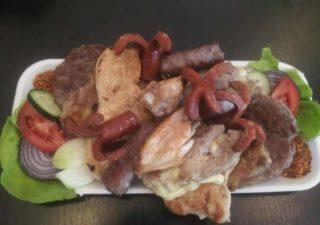 Mešano meso za dve osobe restoranska porcija dostava