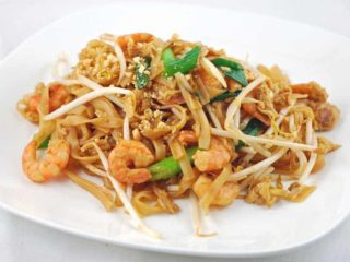 Pad Thai shrimp delivery