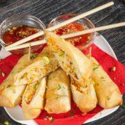 Starter pack 1 - Spring rolls veggie 3kom + 3 sosa