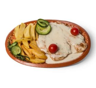 Piletina u sosu od 4 vrste sira dostava