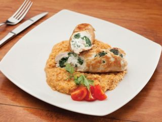 Chicken with ricotta and spinach delivery