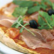 Pizza Prosciutto Crudo e Pomodoro