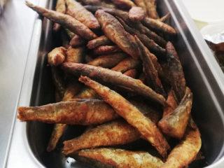 Crispy fried smelts delivery