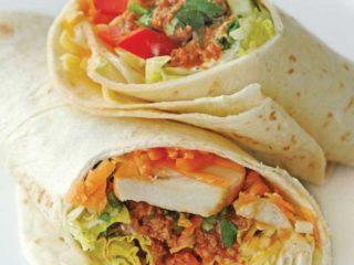 Burrito grande sendvič sa mlevenim mesom dostava