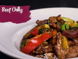 Beef Chilly delivery