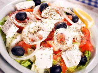 Greek meal salad delivery