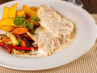 Chicken saltimbocca delivery