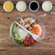 Salad wth chicken