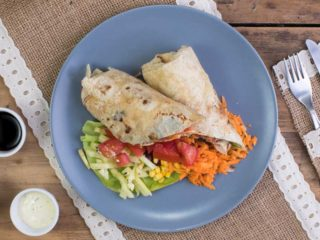 Tortilla with chicken delivery