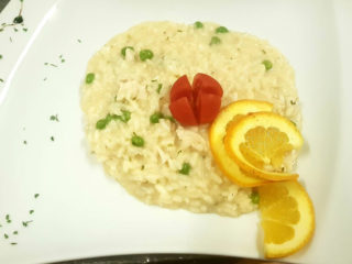 Risotto with chicken delivery
