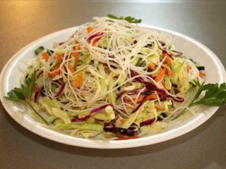 Salad with noodles delivery