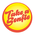 Take a Senfie food delivery Arena