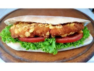 Crispy chicken sandwich delivery
