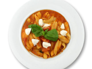 Caprese pasta delivery