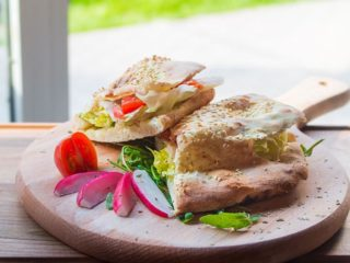 Sandwich chicken breasts delivery