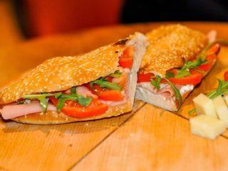 Ham sandwich delivery