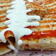 Pancake cheese, pecenica