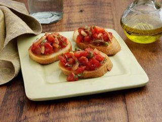 Bruschetta tomato delivery