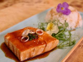 Teriyaki losos sa pirinčem dostava