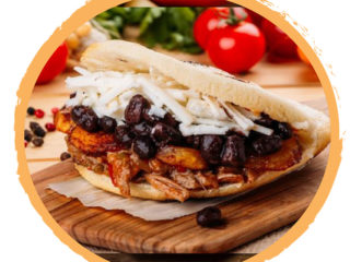 Pabejon Arepas delivery