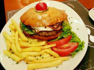 Standard burger delivery