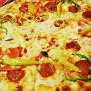 Piquante pizza