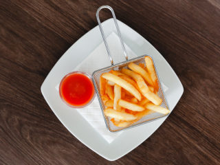 French fries delivery