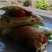 Sandwich with kulen