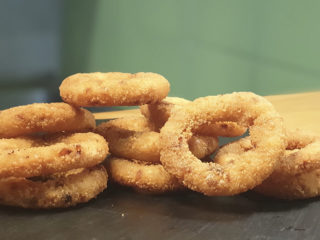 Onion rings 10 pieces delivery