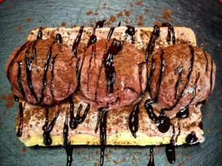 Čoko moko Ice waffle dostava