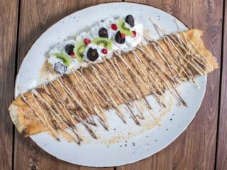 Pancake nutella, plazma cakes delivery