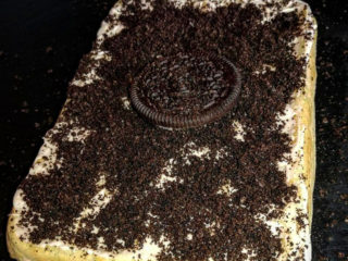 Oreo waffle delivery